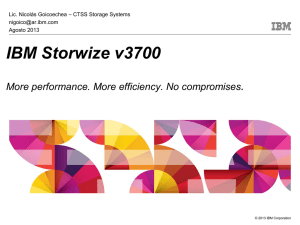 Implementing the IBM Storwize V7000 Unified Disk