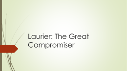 laurier the compromiser