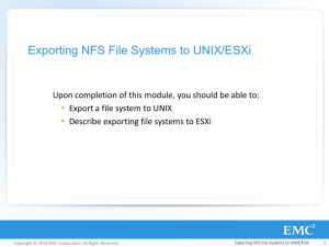 R_MOD_17-Exporting_NFS_File_Systems_to_UNIX_ESXi