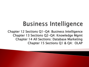Business Intelligence Lecture Slide