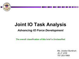 Task Analysis brief final 121211