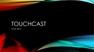 Teach with TouchCast