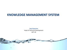 Knowledge-Management-System-GWC-Meeting