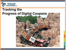 Digital Panel - ACP: The Coupon Professionals