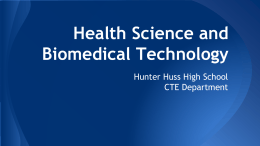 Health Science and Biomedical Technology