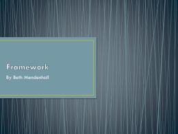 Framework - JayhawkDebate
