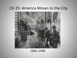 CH: 25 URBANIZATION - Scheidler AP US Block