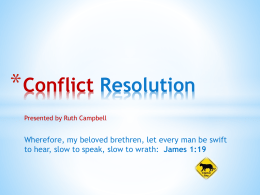 ADV-Presentation-Conflict-Resolution