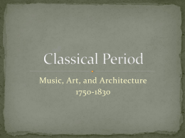 Classical Period - ajsorchestras.org
