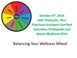 the Circle of Wellness Power Point Presentation