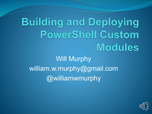 Building-and-Deploying-PowerShell-Custom