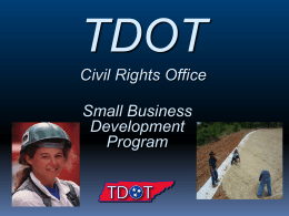 Small Business Development Program Presentation