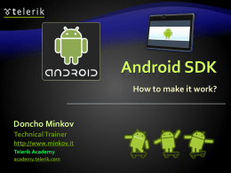 Android SDK and PhoneGap - mobile