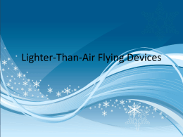 Lighter-Than-Air Flying Devices