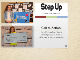 Step Up Loudoun - Loudoun Youth Inc.