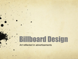 billboard design powerpoint
