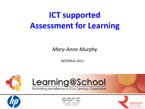 ICT supported Assessment for Learning.(final)