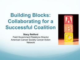 Building Blocks: Collaborating for a Successful