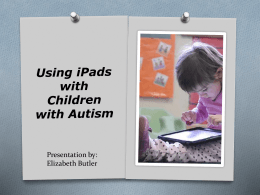 autism and ipads - Geary County Schools USD 475