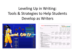 Leveling-up-writing-96dpi - 3 C`s ESL Tools and Strategies