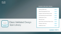 Cisco SBA Icon Library
