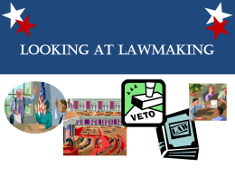 Looking at Lawmaking