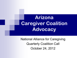 Arizona Lifespan Respite Care Program