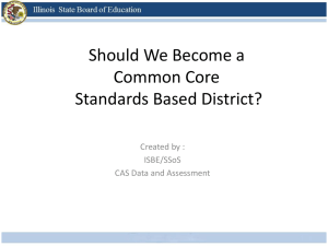 Should We Become a Standards-Based District?
