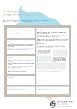template - Conference Design