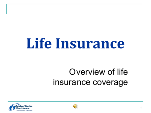 Life Insurance - Healthy Decisions