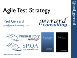 AgileTestStrategy