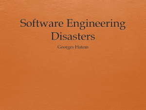 Software_Engineering_Disasters