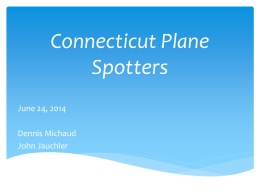 Connecticut Plane Spotters
