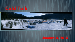 Cold Talk - Rovent 2015