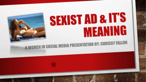Womens in social media presentation