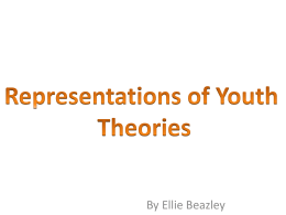 Representations of Youth Theories
