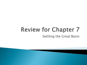 Review for Chapter 7