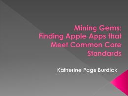Mining Gems: Finding Apple Apps that Meet