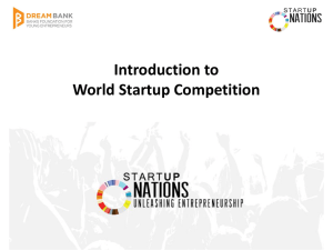 World Startup Competition