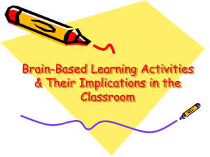 Brain Based Learning Presentation