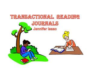 Transactional Reading Journal