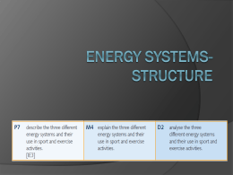 Energy systems & the continuum