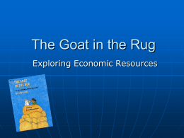 Goat in the Rug PPT