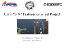 Using BIM on a real Project - Welcome