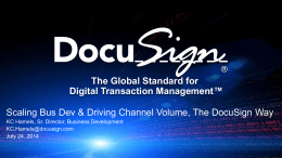 Scaling Bus Dev & Driving Channel Volume, The Docusign Way