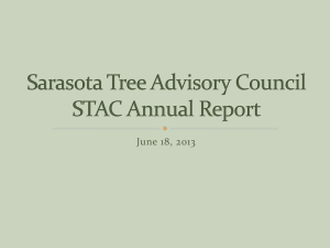 2013 STAC Annual Report PPT