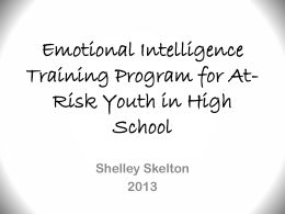 Emotional Intelligence and At