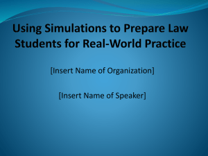 this PowerPoint presentation about simulations