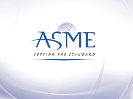 ASME Section XI Update to the July 2013 NESCC Mtg