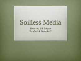 Soilless Media